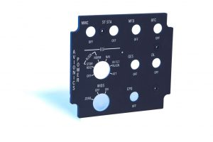 FTG Aerospace Backlit Control Panels